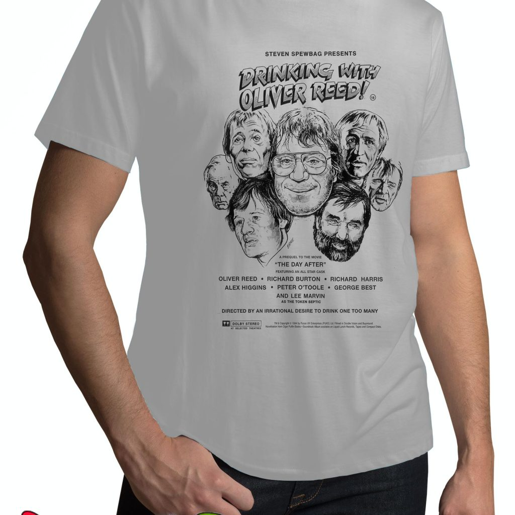 Oliver Reed T Shirts Smart Ts